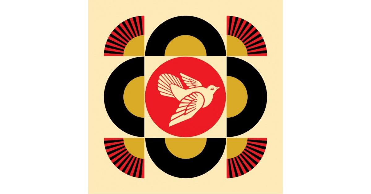 Litho.Online Shepard Fairey - Dove Geometric 1