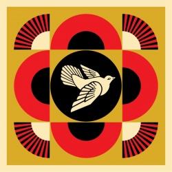Litho.Online Shepard Fairey - Dove Geometric 2