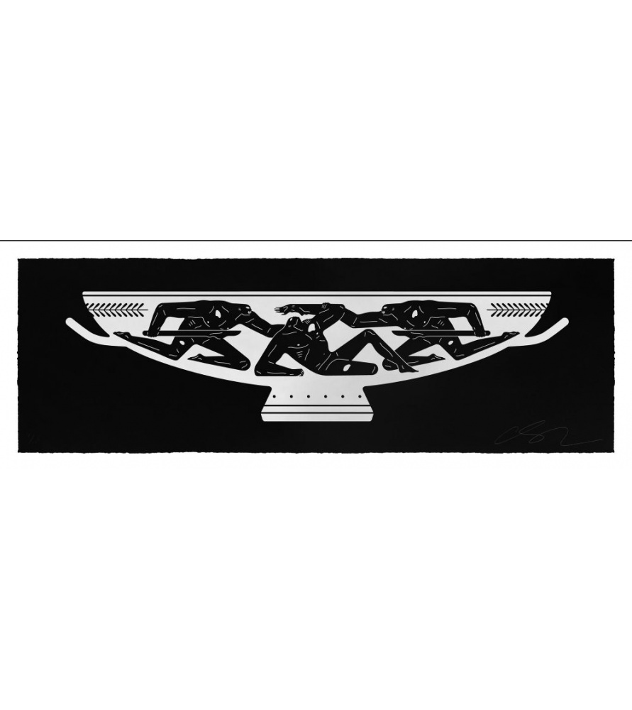 Litho.Online Cleon Peterson - End of Empire, Kantharos (white)
