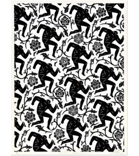 Litho.Online Collaboration - Shepard Fairey/ Cleon Peterson - Pattern of corruption