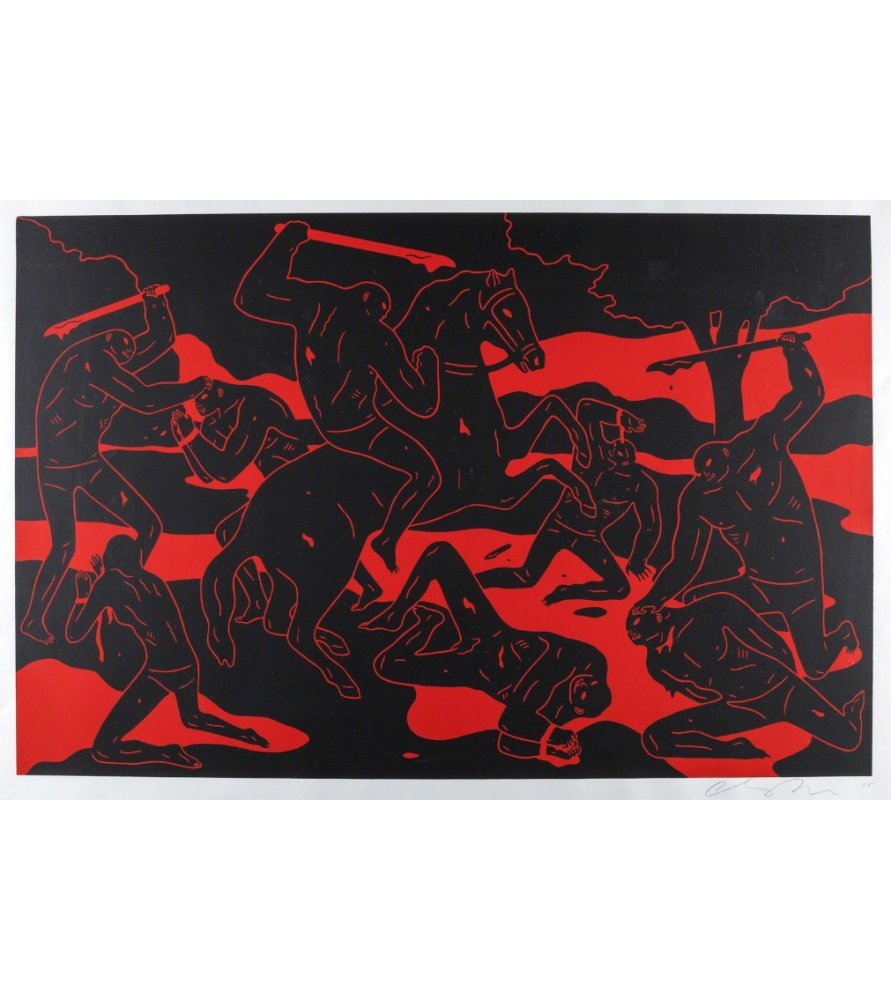 Litho.Online Cleon Peterson - River of Blood