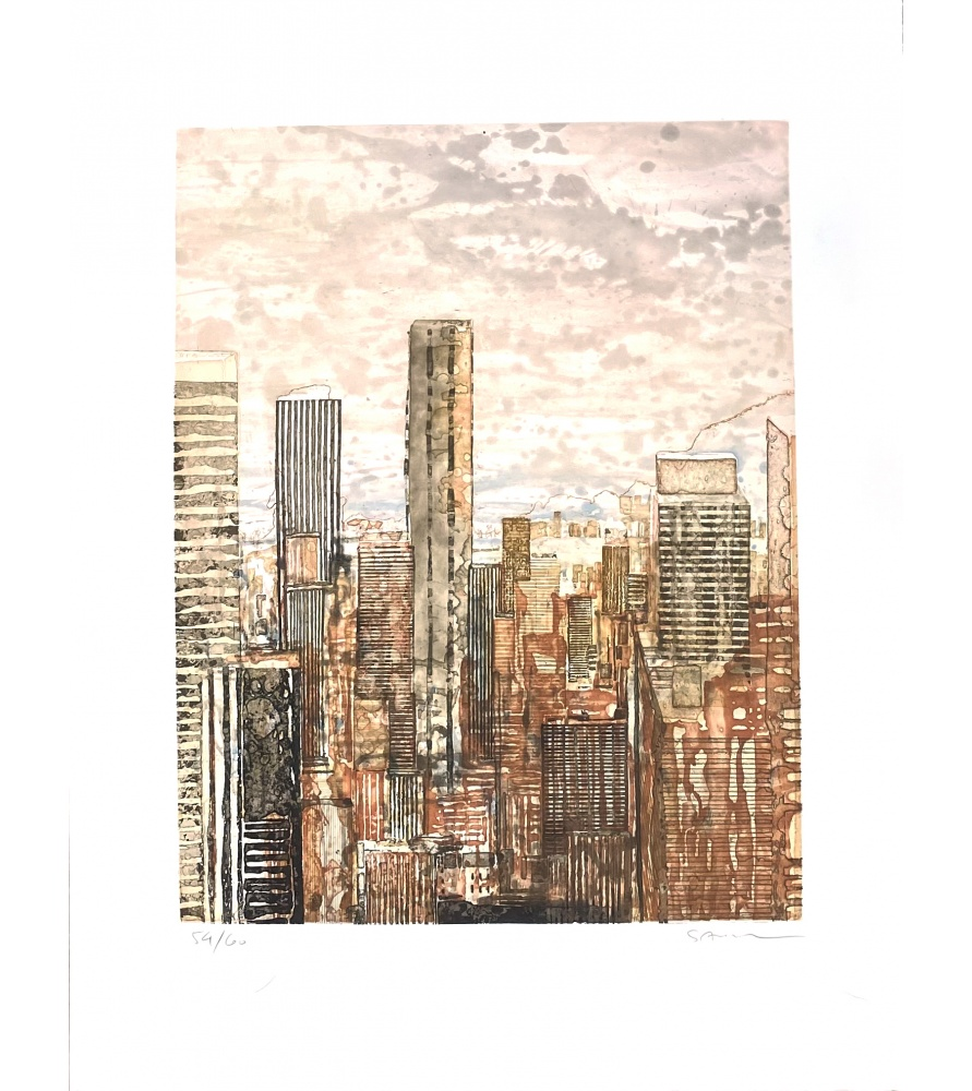 Litho.Online Gottfried Salzmann - New-York Rose