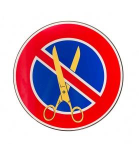 Litho.Online Clet - Cut It Out - Panneau de signalisation 40cm