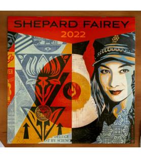 Litho.Online Calendrier Shepard Fairey 2022