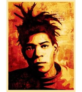 Shepard Fairey - Basquiat