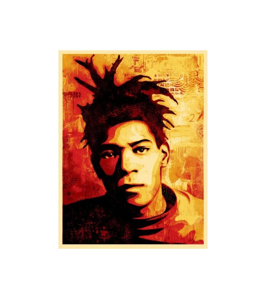 Litho.Online Shepard Fairey - Basquiat