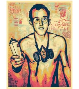 Shepard Fairey - Keith Haring