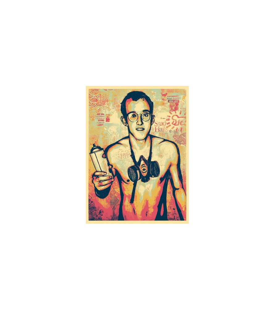 Litho.Online Shepard Fairey - Keith Haring
