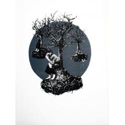 Levalet - Série Figure -Lithgraphie signée et numérotée- 51x37