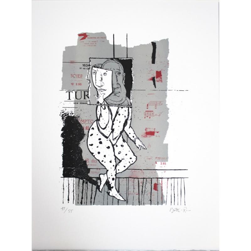 Litho.Online René Botti - Série Figure
