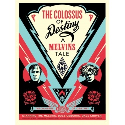 Litho.Online Shepard Fairey - Melvins Colossus