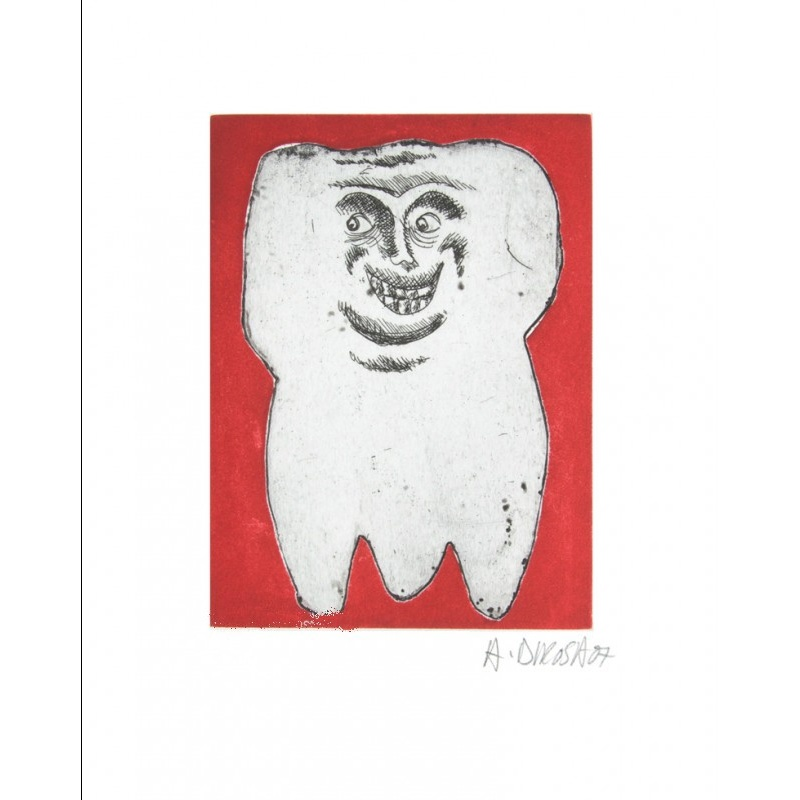 Litho.Online Hervé di Rosa - Les Dents