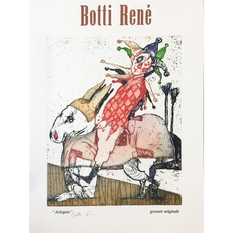 Litho.Online René Botti - L'Arlequin