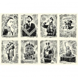 Litho.Online Shepard Fairey - Damaged Set