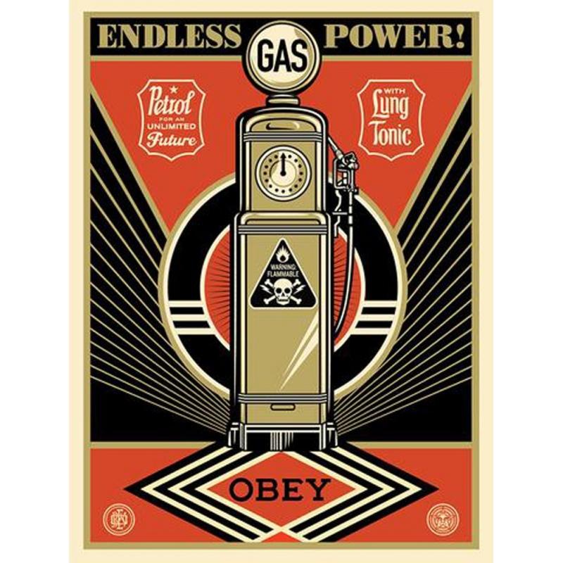 Litho.Online Shepard Fairey - Endless Power