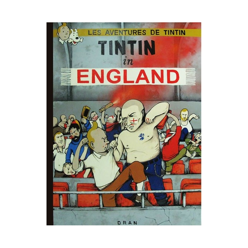 Litho.Online Dran - Tintin in England