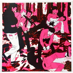 Litho.Online Cleon Peterson - The occupation 2