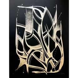 Romain Froquet - Monotype noir
