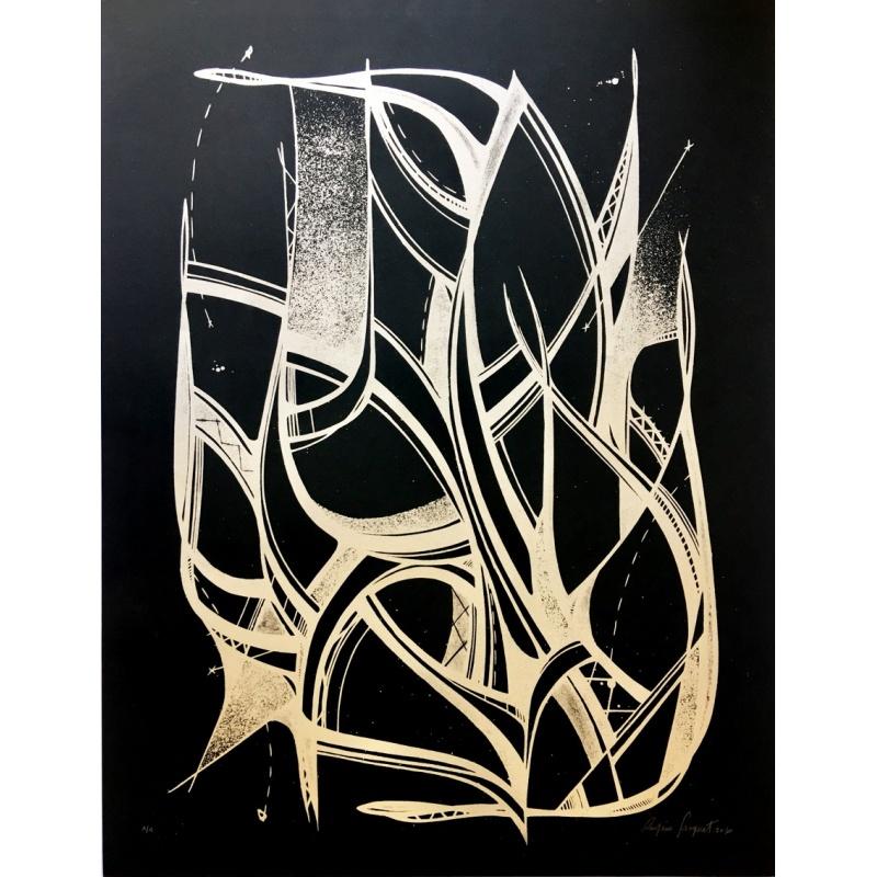 Litho.Online Romain Froquet - Monotype noir