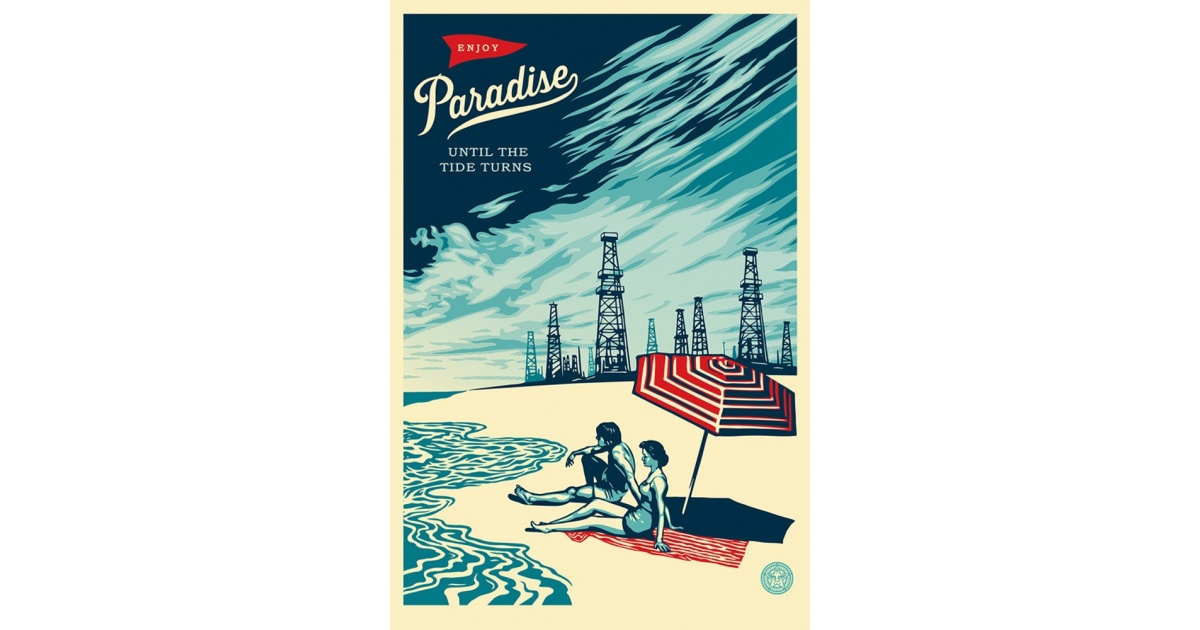 Litho.Online Shepard Fairey - Paradise Turns