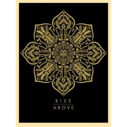 Litho.Online Shepard Fairey - Rise Above