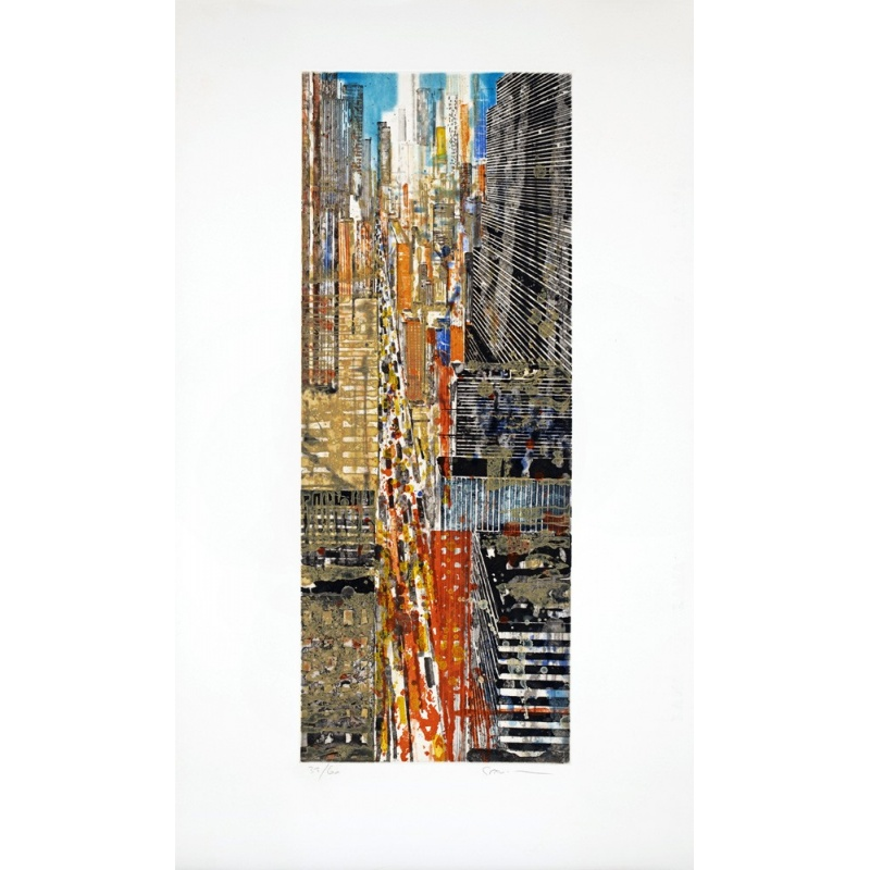 Litho.Online Gottfried Salzmann - 5th Avenue