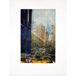 Gottfried Salzmann - Varick Street - Epreuve d'essai - 66x50cm