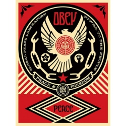 Litho.Online Shepard Fairey - Peace&Freedom Dove