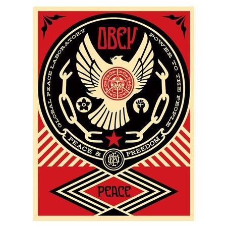 Litho.Online Shepard Fairey - Peace&Freedom Dove