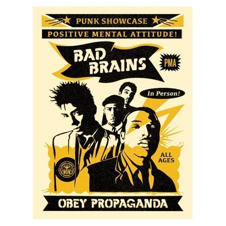 Litho.Online Shepard Fairey - Bad Brain Punk Showcase