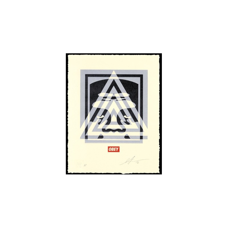 Shepard Fairey (Obey) - Andre – 2016 - Letterpress - signée et numérotée sur 450 exemplaires - 33x25cm