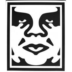 Shepard Fairey (Obey) - André (N/B) - Poster signé et daté - 78x64 cm - 2010