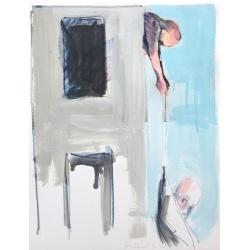 Philippe Hérard - CENT-TITRES - 2017 - Digigraphie rehaussée et signée - 30 x 40 cm - encadrée