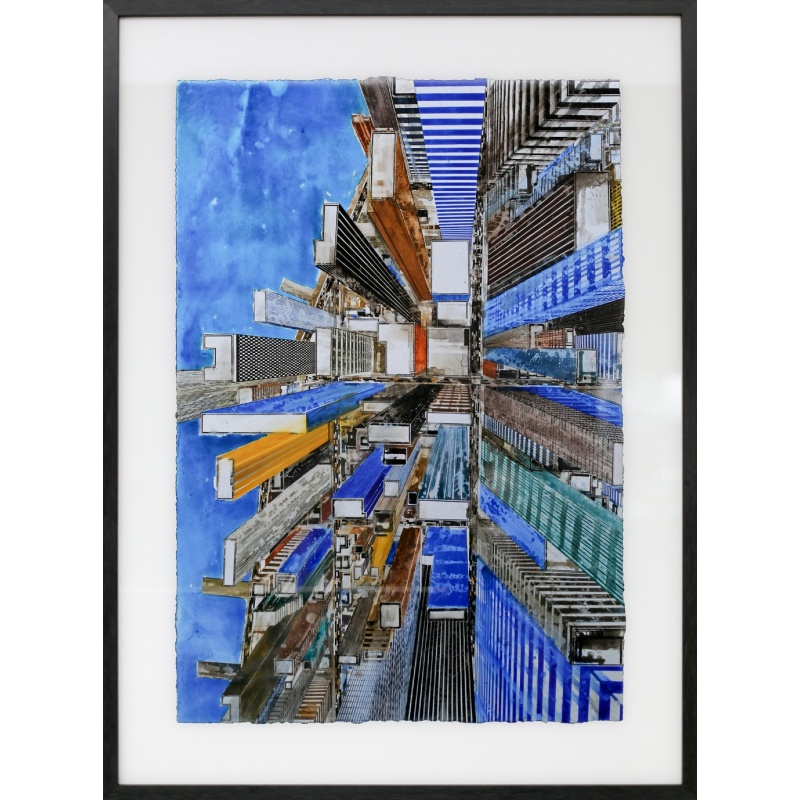 Litho.Online Gottfried Salzmann - New-York Greenstreet