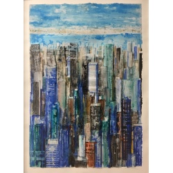 Litho.Online Gottfried Salzmann - New-York - 6ex
