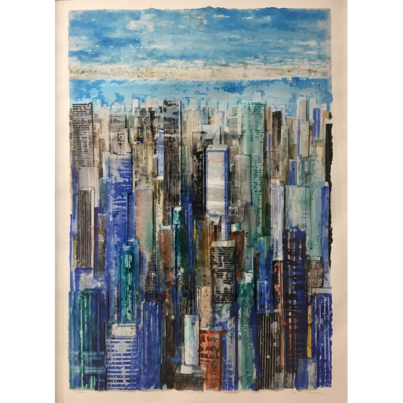 Litho.Online Gottfried Salzmann - New-York - 6ex