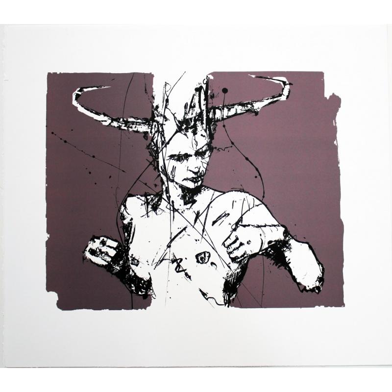 Guy Denning - Série Figure -Lithgraphie signée et numérotée-  32
