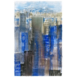 Litho.Online Gottfried Salzmann - Estampe MidTown
